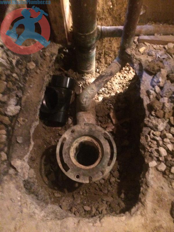 copper drain