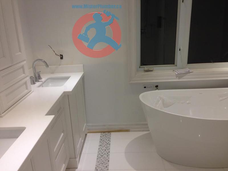 Bathroom plumbing upgrade