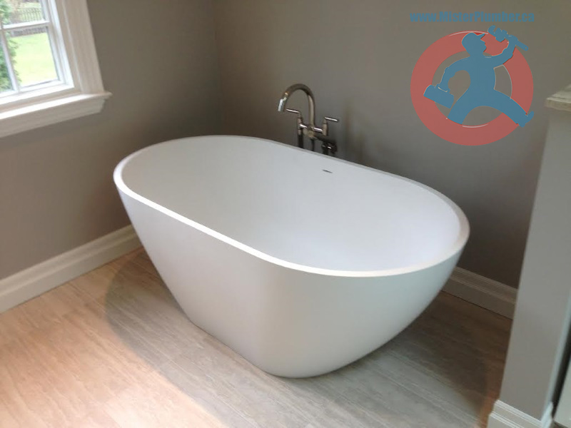 Bathtub-with-floor-mounted-faucet