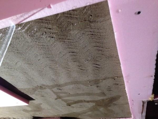 Leak from ceiling-plumbing