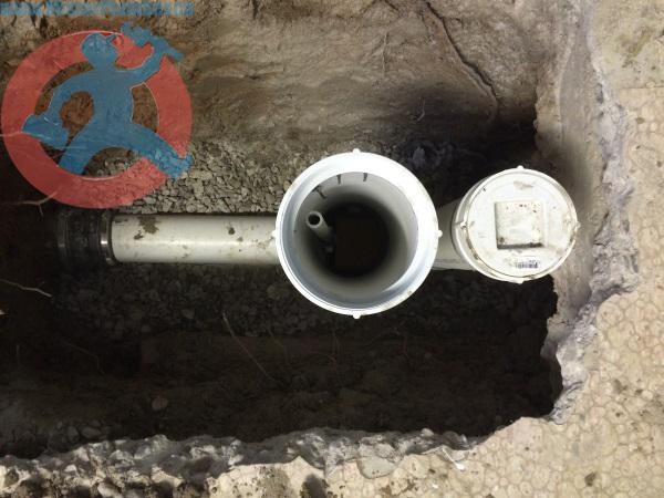 PVC access pipe