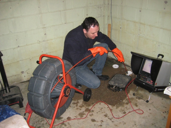 Toronto drain and sewer camera inspection