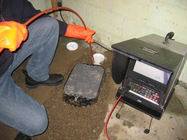 Toronto-Sewer line camera inspection