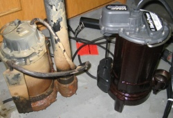 Toronto-sump-pump repair