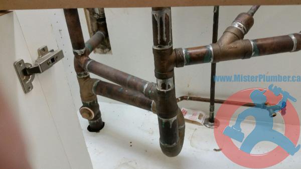 Copper-drain
