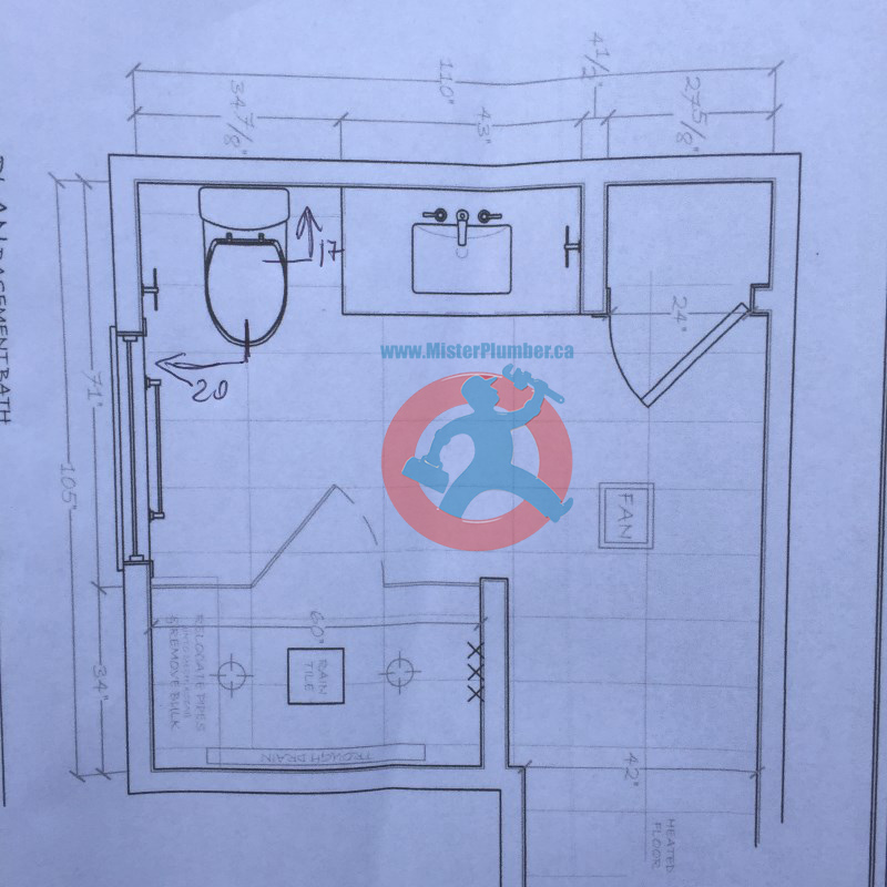 washroom layout