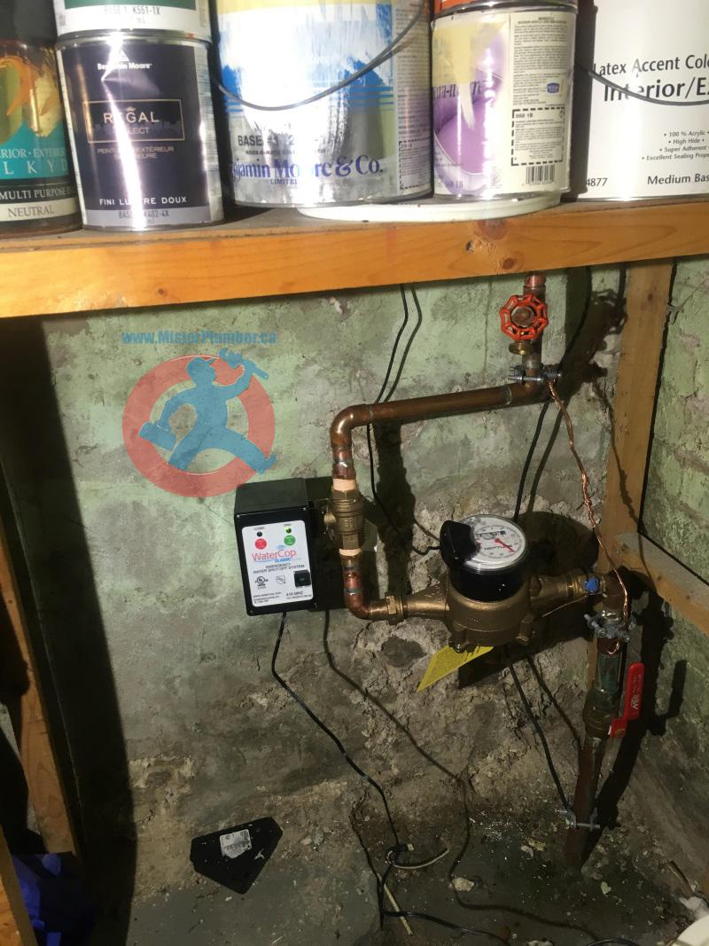 water main shut-off valve