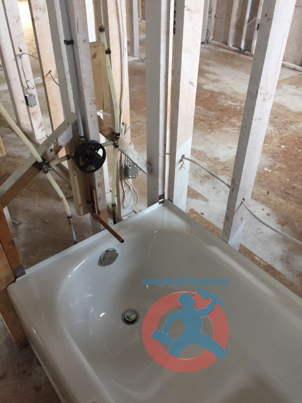 plumbing-for-bathtub