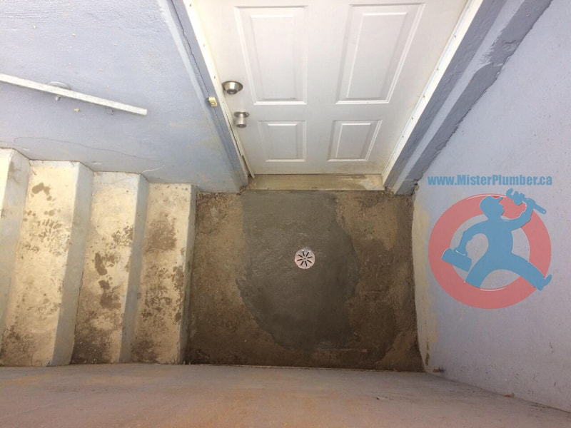 Basement Walk Out Drain Upgraded With 4 Pvc Mister Plumber
