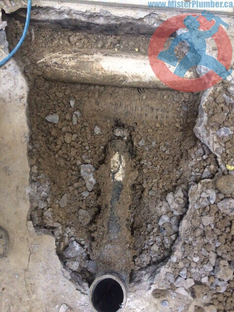 Basement walk-out drain