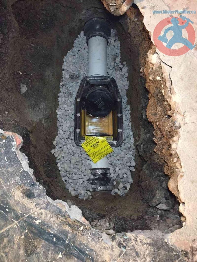 Backwater valve