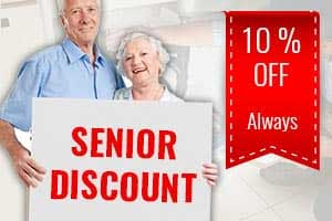 Senior Discount for any plumbing