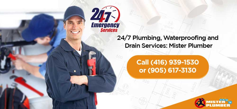 Mister Plumber - 24/7 services