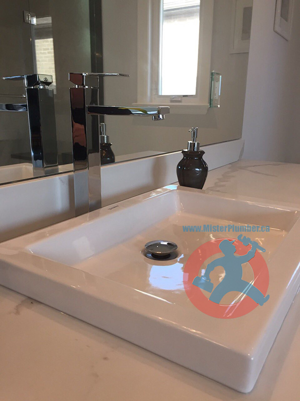 sink installation in Toronto