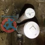 Backwater valve with downstream sewer s