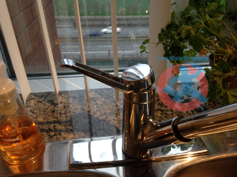 kitchen faucet in Toronto
