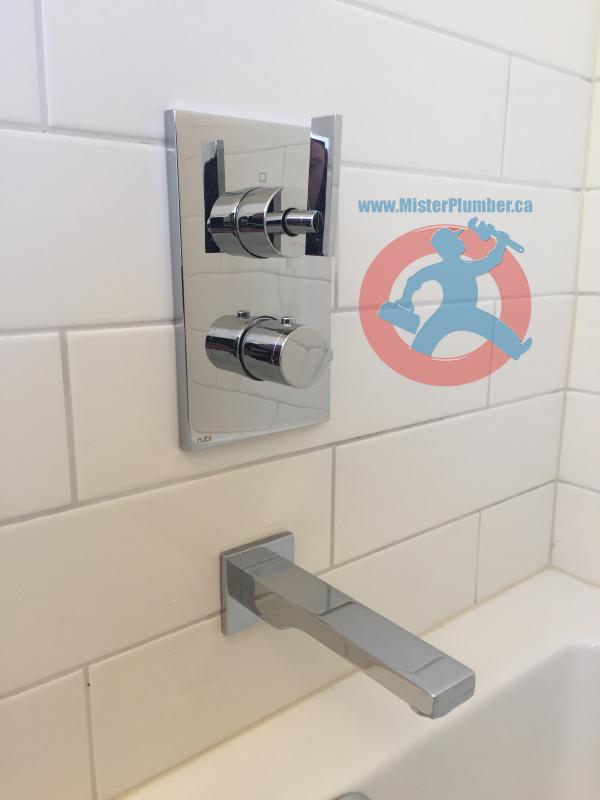 shower control valve