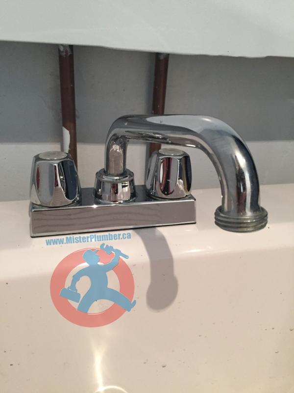 laundry tap plumbing