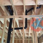 New construction drain pipes s
