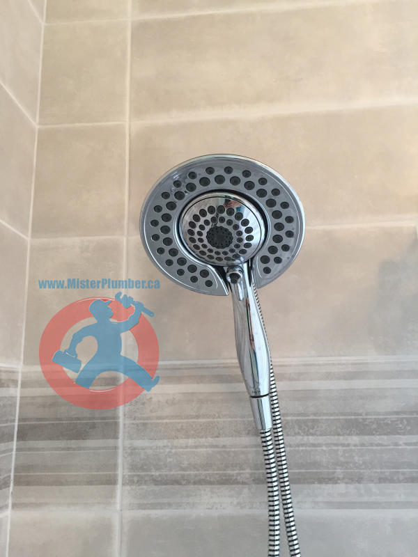 Delta shower installation