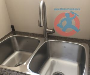 Double stainless steel laundry sink s