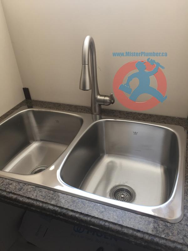 laundry sink plumbing