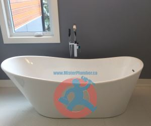 Master washroom bathtub s