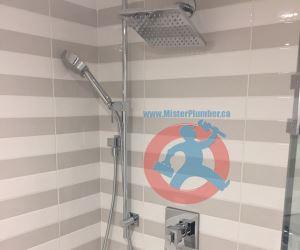 Shower plumbing fixtures-s