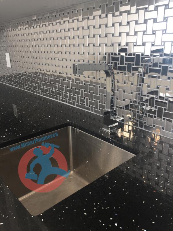 Bar sink Toronto plumber