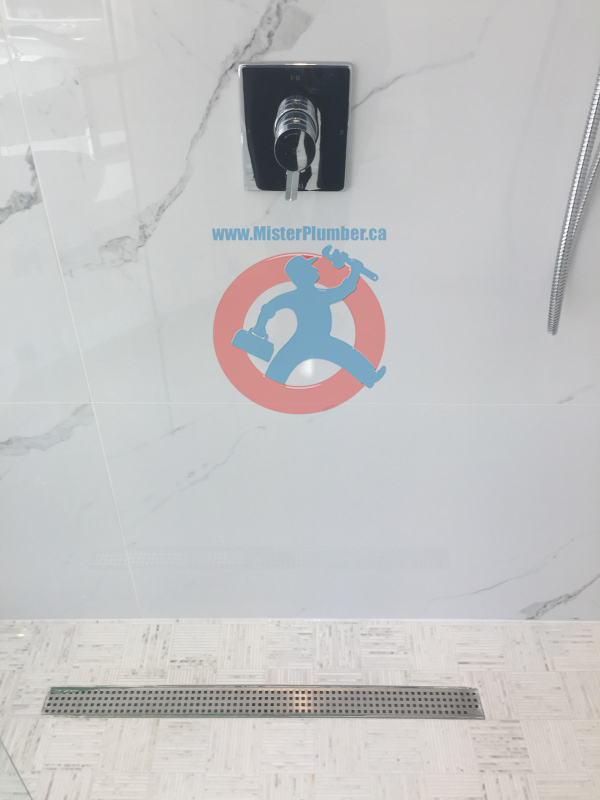 Shower tap installation