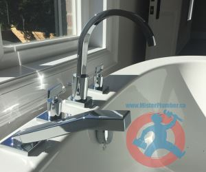 Toronto installed free stand bathtub tap s