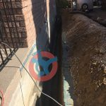 trench-for-exterior-foundation-wall-waterproofing