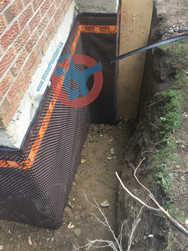 wall waterproofing in Toronto