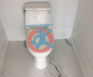 One piece toilet s