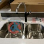 Renovated kitchen sink faucet s