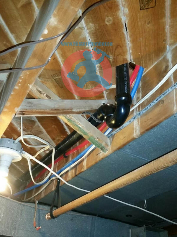P-trap installation