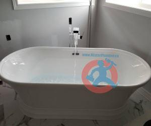 Installation of plumbing fixtures s