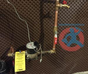 Re installation of water meter s