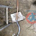 Underground water service connection s