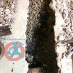 disconnecting-of-old-waste-pipe