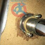 Leak from tap under kitchen s