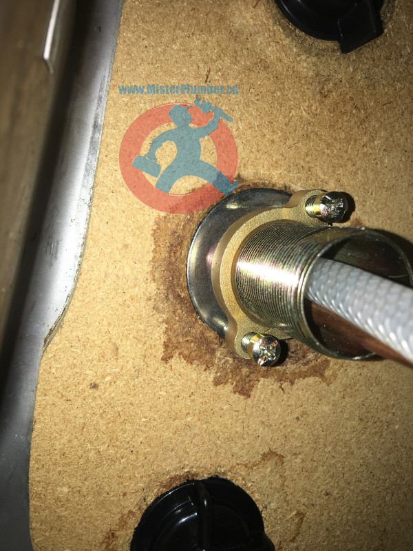 Leak from tap