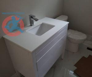 New plumbing fixtures installation s