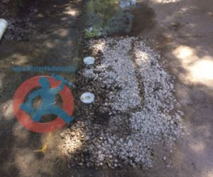 Two 4 PVC lids for sanitary drain s