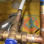 Mixing valve connection s