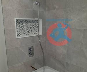 Attachment of shower trims s