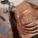 Installation of copper type K s