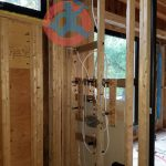 installation-of-rough-in-shower-body