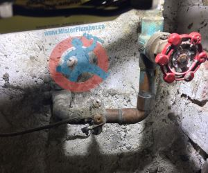 Old main shut off valve s