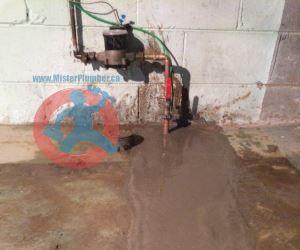 Restoration after water service upgrade s